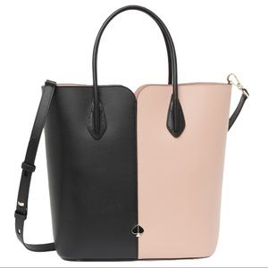 NEW Kate Spade Nicola Bicolor Large Tote Bag